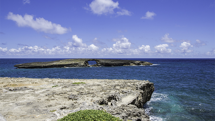 One of the islands off Oahu.