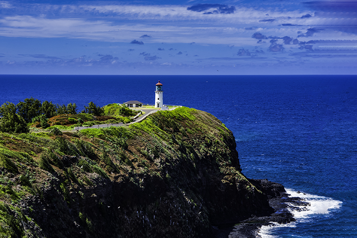 Historic lighthouses in Hawaii