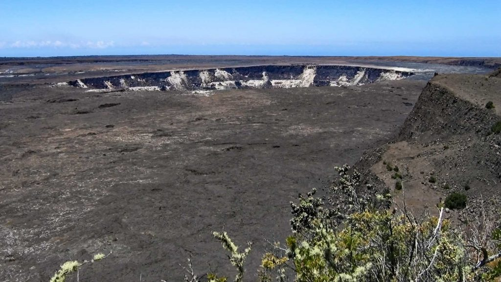 Kilauea Crater in Hawaii Volcanoes National Park